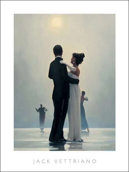 Vettriano Dance Me To The End Of Love
