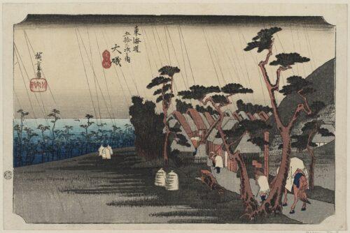 090118 Hiroshige Pioggia di Tora