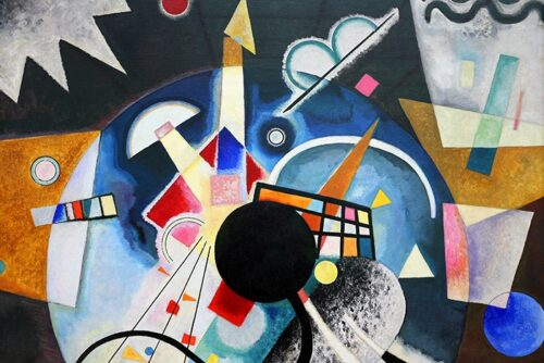 Vasilij Kandinsky - A center 1924