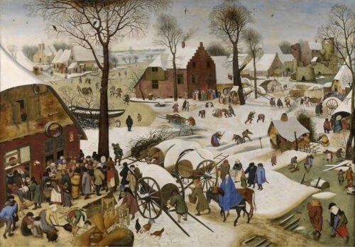 090210 Bruegel Pieter Censimento di Betlemme