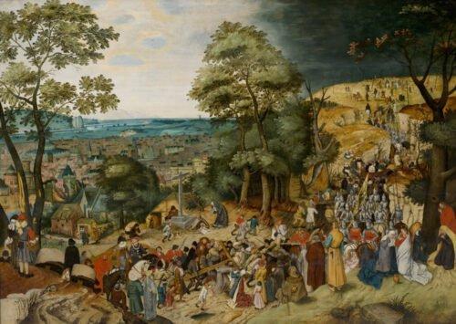 090212 Bruegel Pieter Cristo Trasporta la Croce