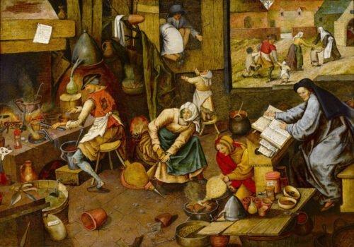 090215 Bruegel Pieter L'Alchimista
