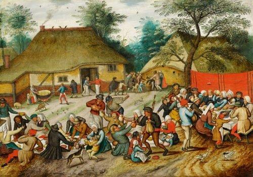 090216 Bruegel Pieter Festa di Matrimonio Paesana