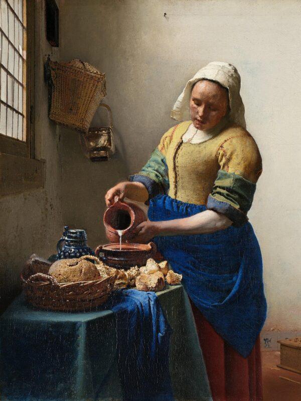 090304 Vermeer - La Lattaia