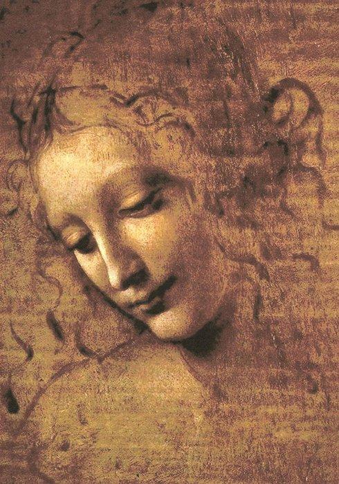 Leonardo - La Scapigliata
