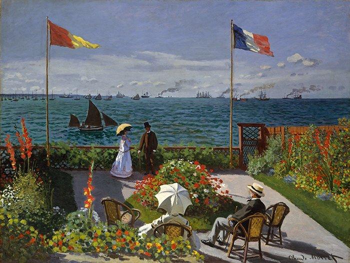 Monet Claude - Terrazza a S. Adresse