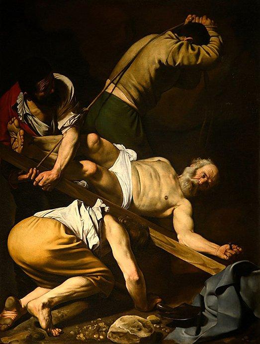 090373 Caravaggio Il Martirio di San Pietro