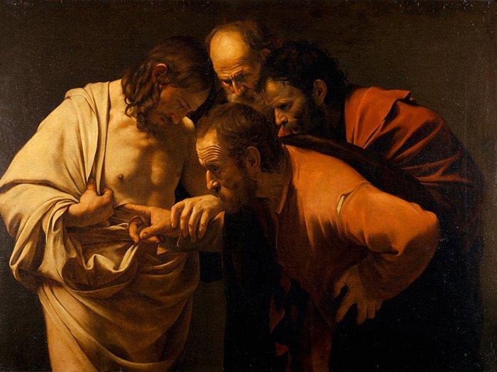 Caravaggio - Incredulità di San Tommaso