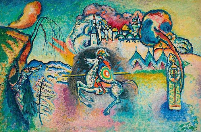 Vasilij Kandinsky - Cavaliere errante
