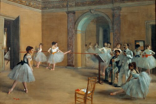 Degas - The Dance Foyer at the Opera