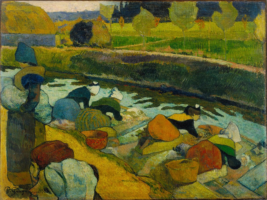 Paul Gauguin - Le Lavandaie