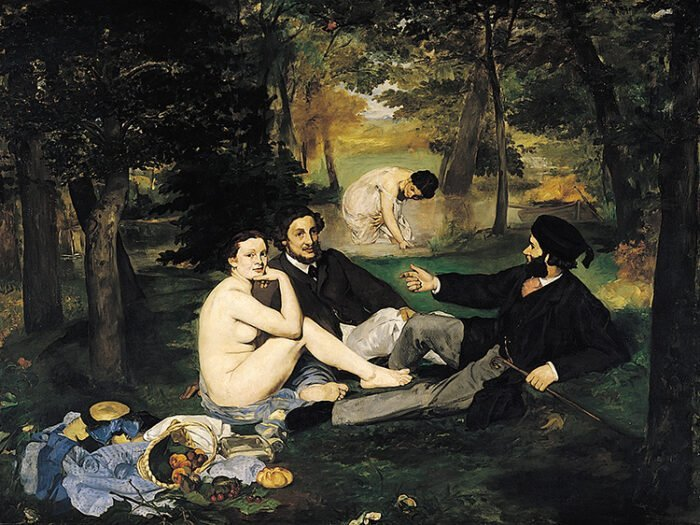 Edouard Manet - Colazione sull'Erba