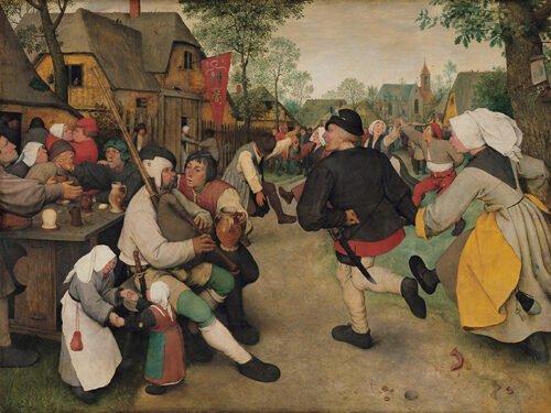 Pieter Bruegel - Danza di contadini