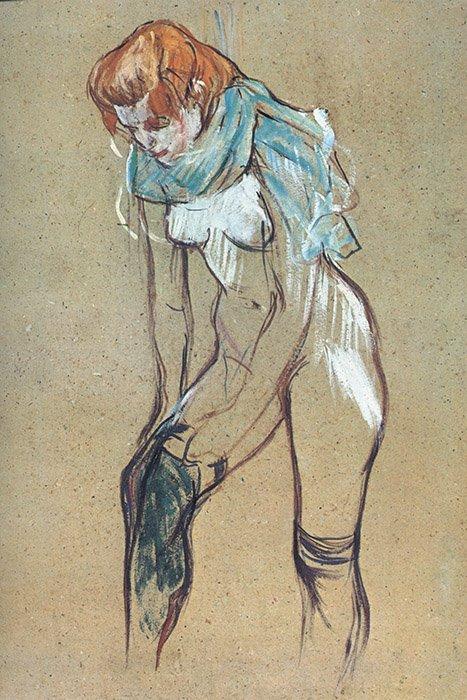 Touluse Lautrec - Nudo di donna