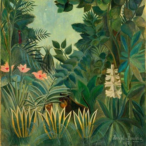 Henri Rousseau - Giungla Equatoriale
