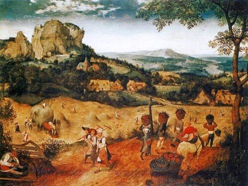 Pieter Bruegel - Fienagione