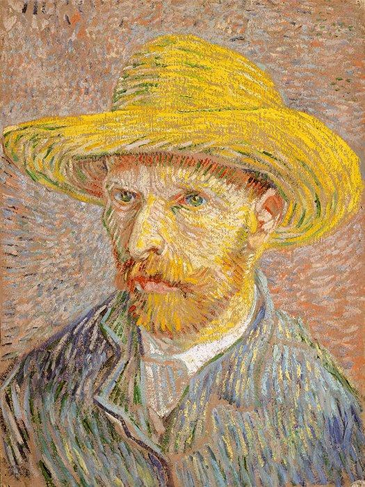 090411 Van Gogh Autoritratto con Cappello