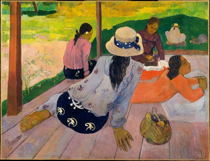 Paul Gauguin - La Siesta