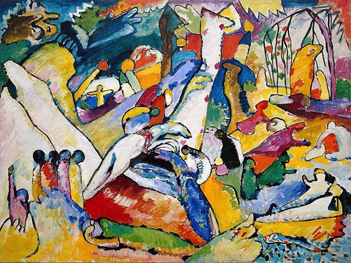 Vasilij Kandinsky - Studio composizione II