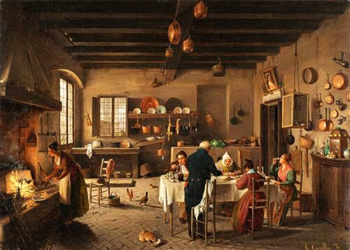 Carlo Canella - La cucina del sacrista di San Bernardino alle Monache