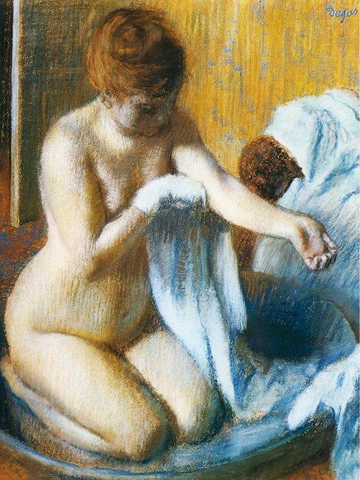 Edgar Degas - Dopo il bagno