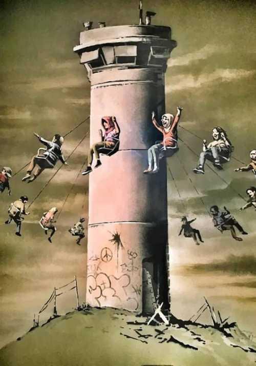 Banksy - La giostra 2