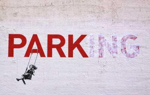 Banksy - Parking