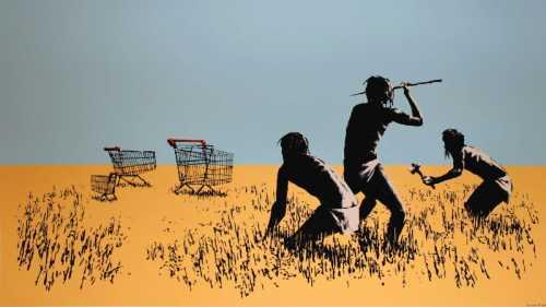 Banksy - Cacciatori