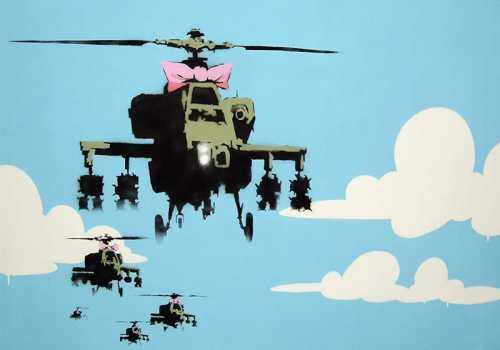 Banksy - Elicotteri militari