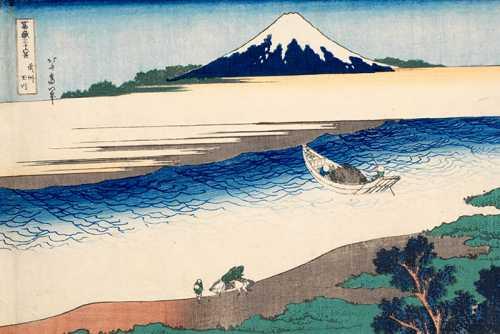 Utamaro Hokusai – Tama River in Musashi Province