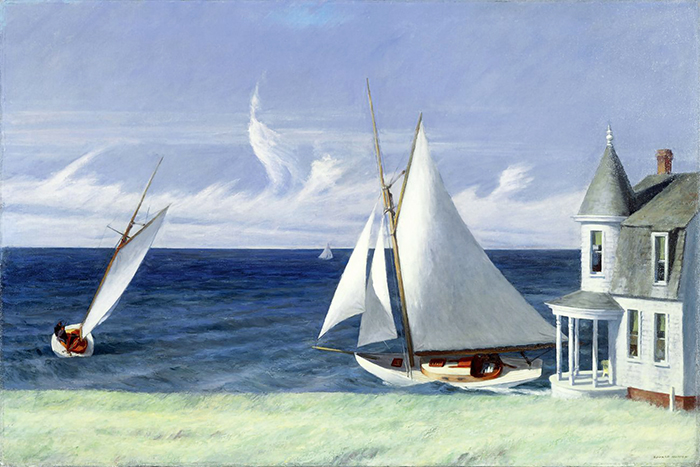 Edward Hopper - The Lee shore