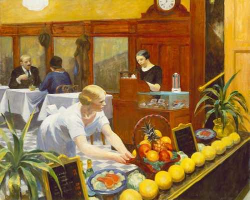 Edward Hopper - Tables for Ladies