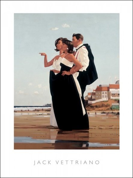 Vettriano The Missing Man II