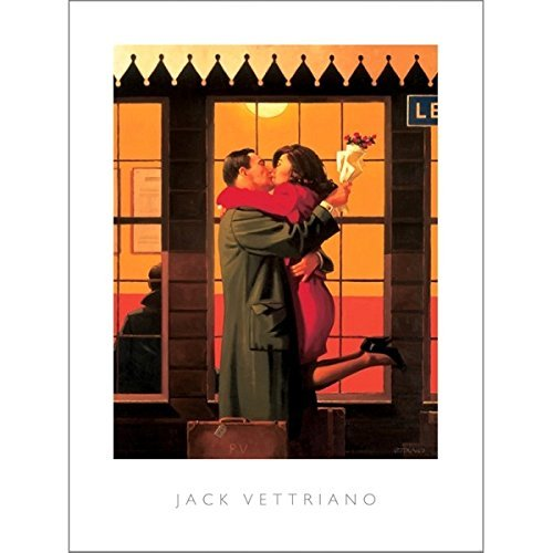 Vettriano Back Where You Belong