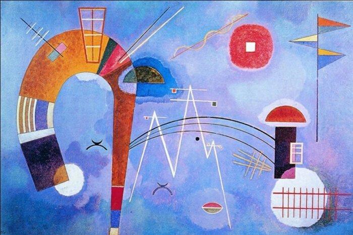 Vasilij Kandinsky - Curva e spigoli