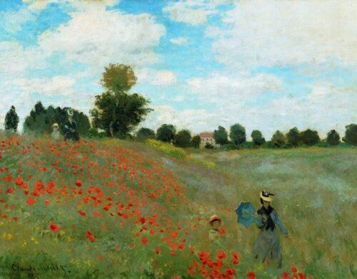 Claude Monet - Campo di Papaveri