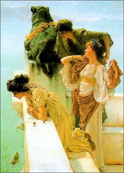Alma Tadema - Position avantageuse