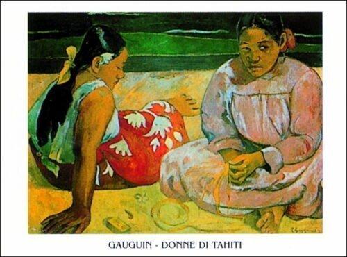 Paul Gauguin - Donne Di Tahiti sulla spiaggia