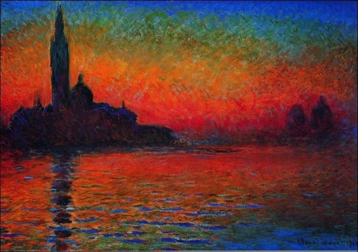 31994 Monet San Giorgio Maggiore al Crepuscolo