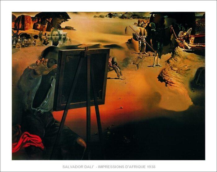 Salvador Dalì - Impressions d'Afrique
