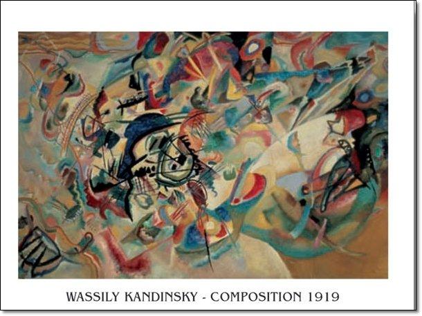 Vasilij Kandinsky - Composizione 1919