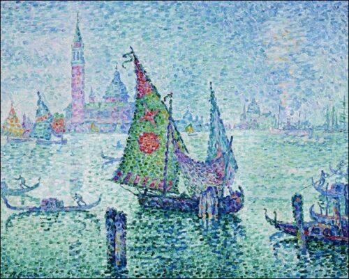 32867 Signac La Voile Verte A Venise