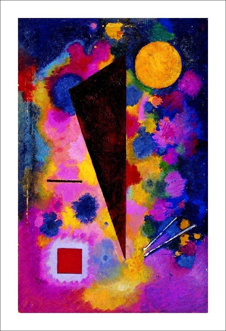 Vasilij Kandinsky - Resonance multicolore