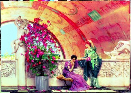 Alma Tadema - Unconscious rivals 1873