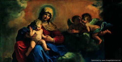 Guercino Santi protettori Modena