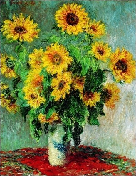 Claude Monet - Bouquet de soleil
