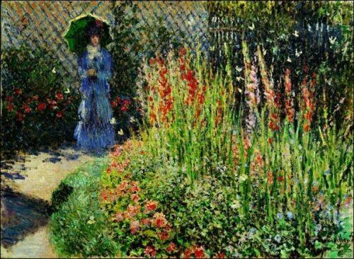 Claude Monet - I Gladioli