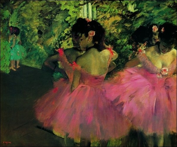 133 Degas Ballerine in Rosa
