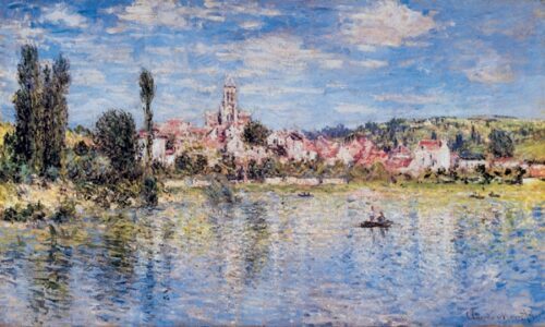 Claude Monet - Vetheuil in summer