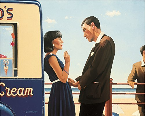 HP504650 Vettriano The Lying Game